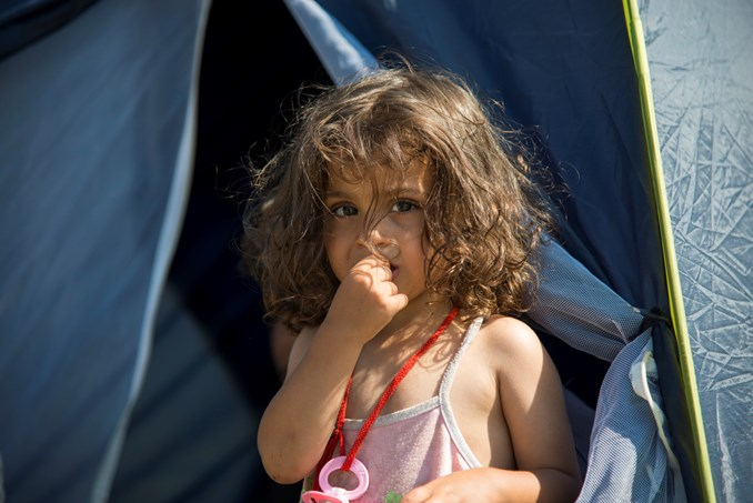 Syrian refugee in Serbia