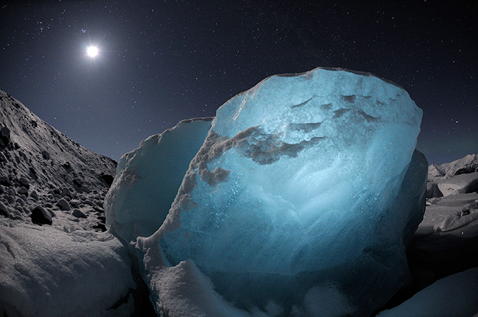 The ice sheets in Antarctica