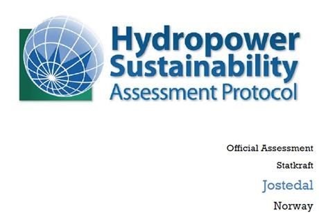 Logotype Hydropower Sustainability