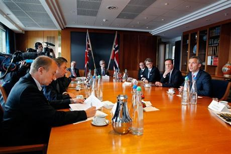 Norway and UK discussed increased energy cooperation