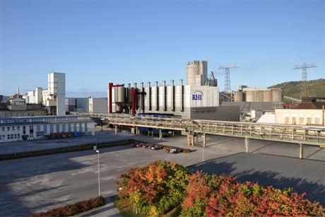 RHI Normag factory at Herøya