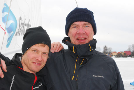Rost and Lewander wins gold at European championship of wind yacht