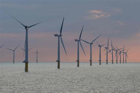 Wind power in UK opened